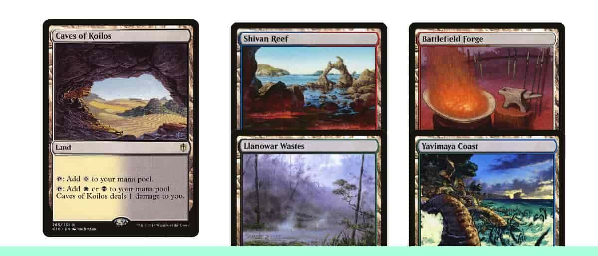 Budget Guide To Pioneer Dual Lands Tcgplayer Infinite Separate pages included for individual color combinations. budget guide to pioneer dual lands