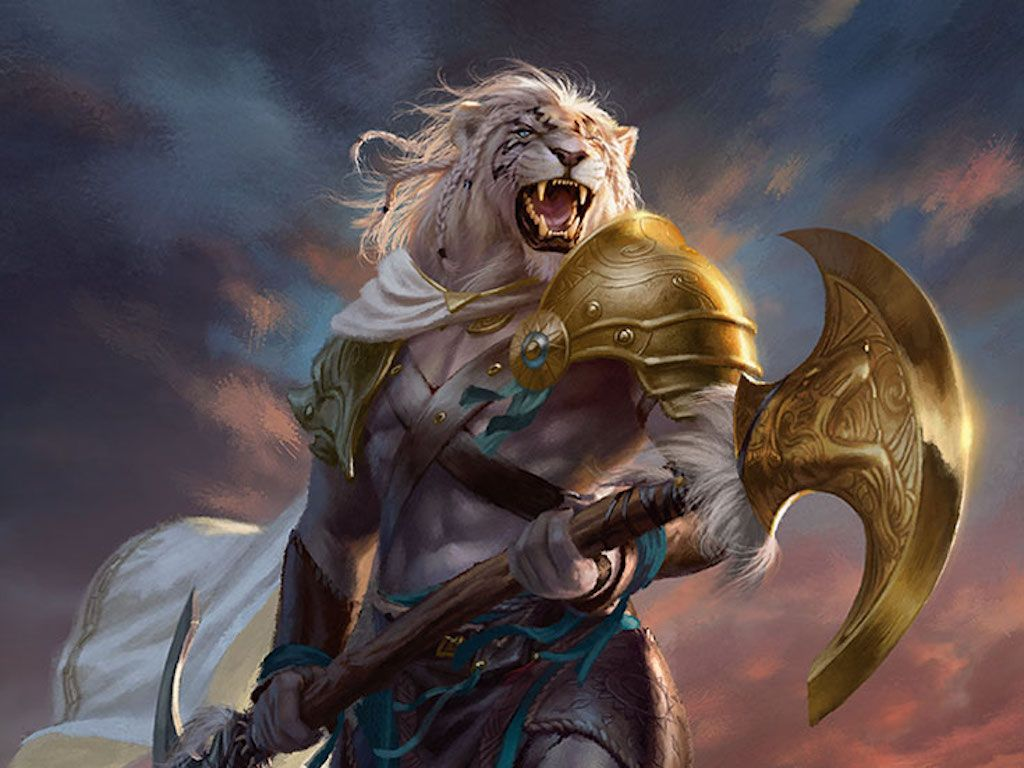 Ajani, Strength of the Pride Planeswalker Duel Deck