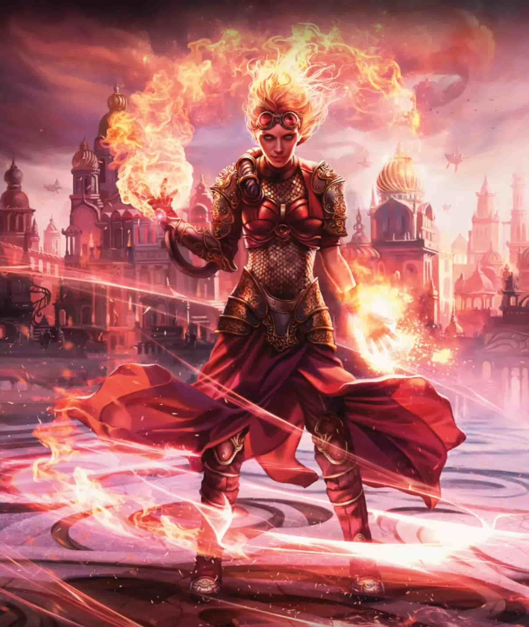 Chandra, Torch of Defiance Planeswalker Duel Deck