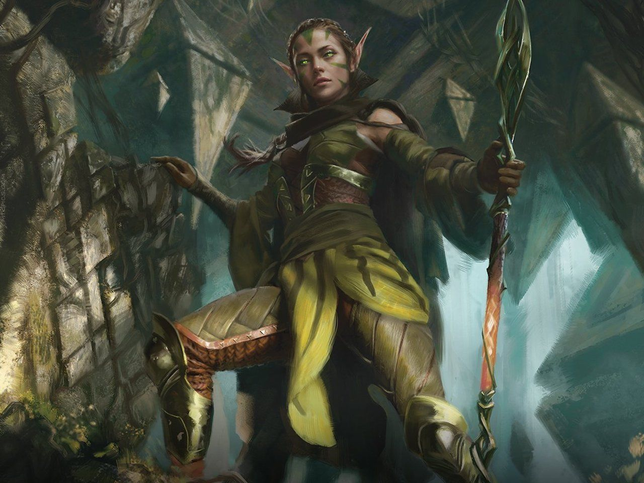 Nissa of Shadowed Boughs Planeswalker Duel Deck