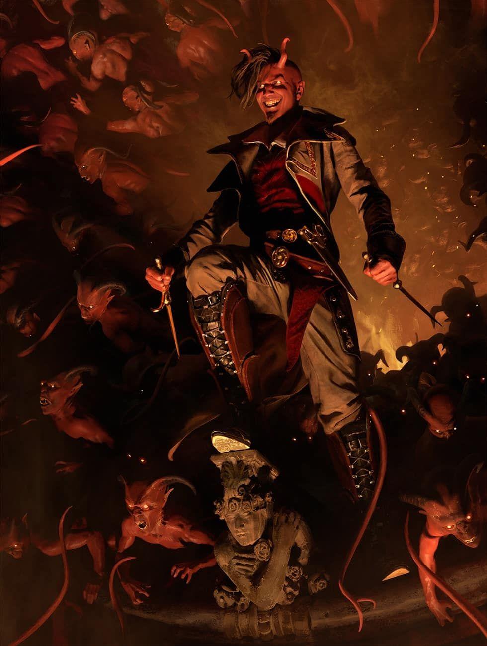 Tibalt, Rakish Instigator Planeswalker Duel Deck